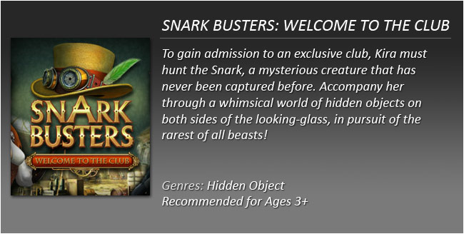 Snark Busters Welcome to the Club