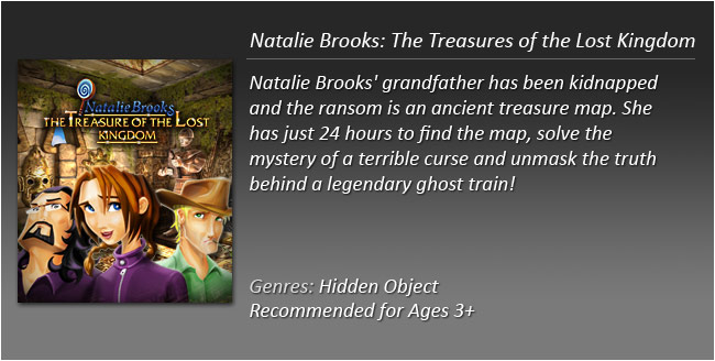 Natalie Brooks Treasures of the Lost Kingdom